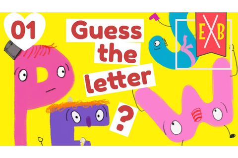 Alphabet Detective 1 : An ABC Guess the letter game - YouTube