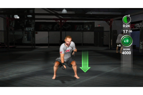 UFC Personal Trainer: The Ultimate Fitness System (Wii ...