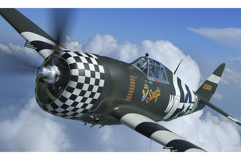 Flying legend returns to the skies: Rare WWII P-47 ...