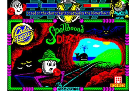 Spellbound Dizzy Spectrum Title & In-Game Music - YouTube