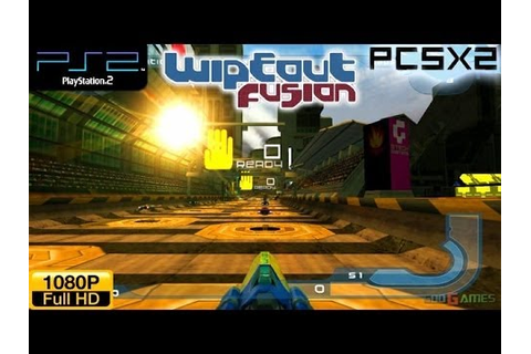 Wipeout Fusion - PS2 Gameplay 1080p (PCSX2) - YouTube