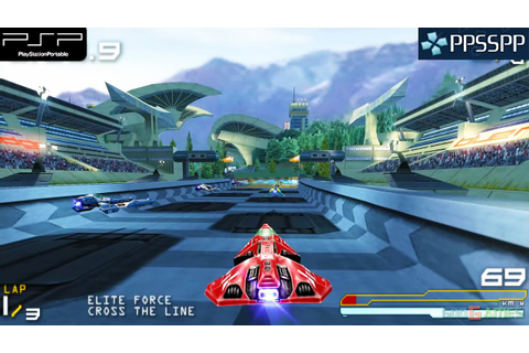 Wipeout Pure - PSP Gameplay 1080p (PPSSPP) - YouTube