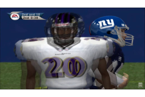 Madden NFL 2001 PS2 Gameplay HD - YouTube