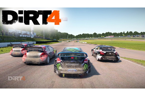 DiRT 4 Gameplay: INSANE RALLYCROSS RACING - YouTube