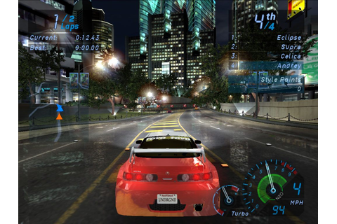 Need For Speed Underground Full Version Free Download PC ...