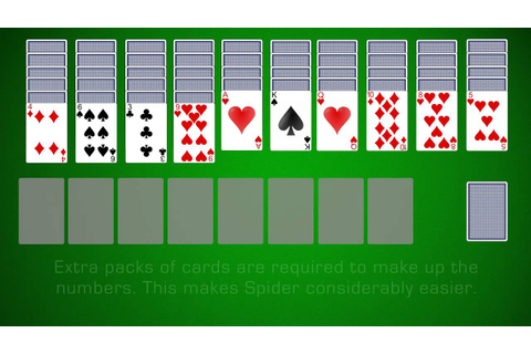 How To Play Spider Solitaire - YouTube