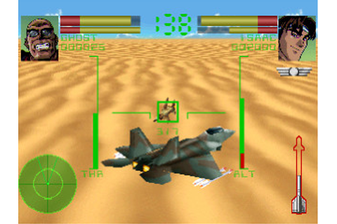 SEGA Saturn unreleased Games: Deadly Skies - Funcom