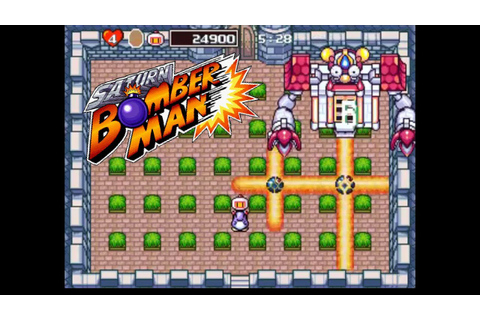 Saturn Bomberman [Sega Saturn] - Full Playthrough ...