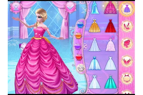 Best Games for Kids - Ice Princess Fun Colors Play Dress ...
