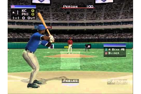Nintendo GameCube All Star Baseball 2002 (USA) - YouTube