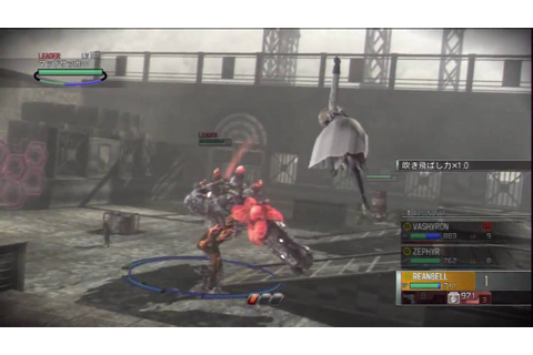 Resonance of Fate HD Boss Gameplay - YouTube