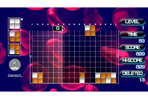 Lumines 2 PSP Demo | Free PSP Demo Games