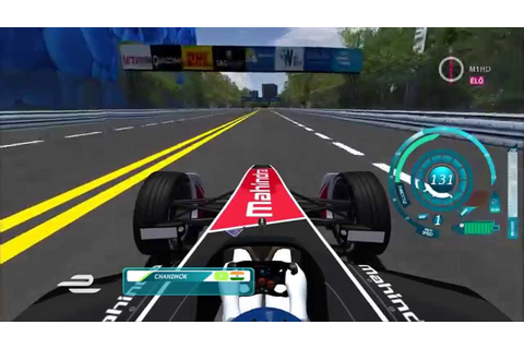 Formula E Gameplay - rFactor [1080p] - YouTube