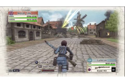 Valkyria Chronicles Gameplay - HD Test - YouTube