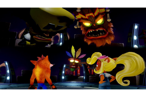 Crash Bandicoot 3: Warped (N-Sane Trilogy) - Game Select ...