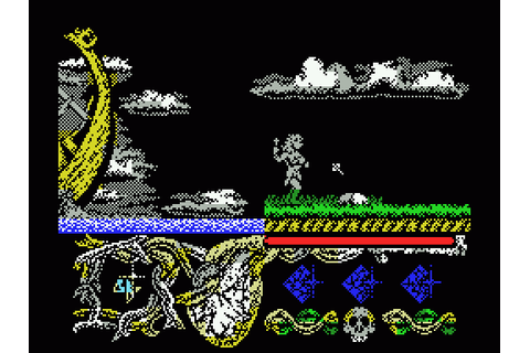 Hundra (1988) by Dinamic MSX game