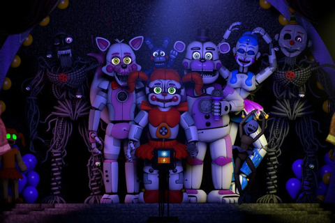 Five Nights at Freddys Sister Location Wallpapers ·① ...