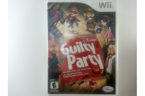 Guilty Party game for Wii (New) | The Game Guy