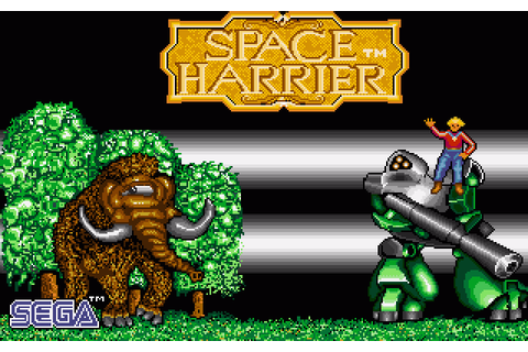 Space Harrier (1989) Amiga game