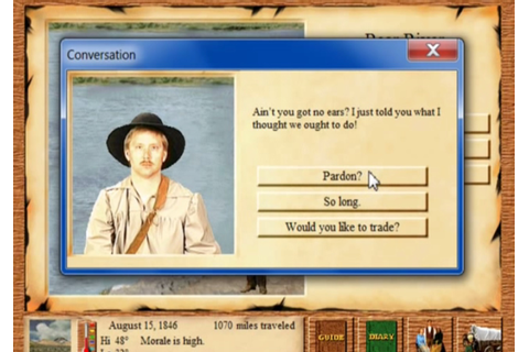 Oregon Trail II - Old Games Download