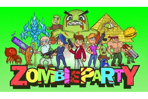 Zombie Party Free Download PC Games | ZonaSoft