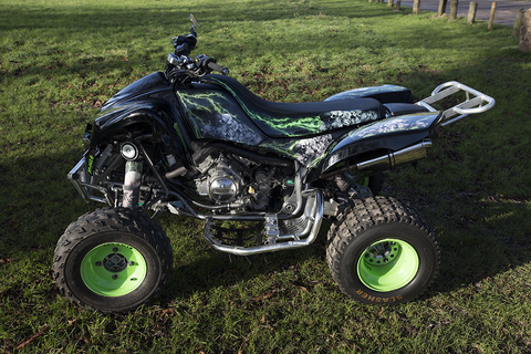 KFX 700 Kawasaki PLG FULLY ROAD LEGAL QUAD BIKE NOT RAPTOR 700