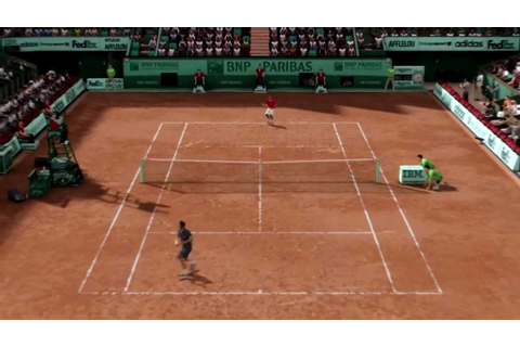 (HD)Grand Chelem Tennis 2 - Vidéo test - YouTube