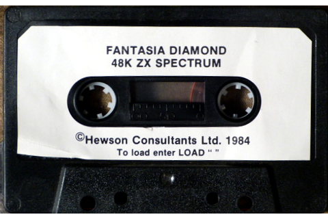 Computer Game Museum Display Case - Fantasia Diamond