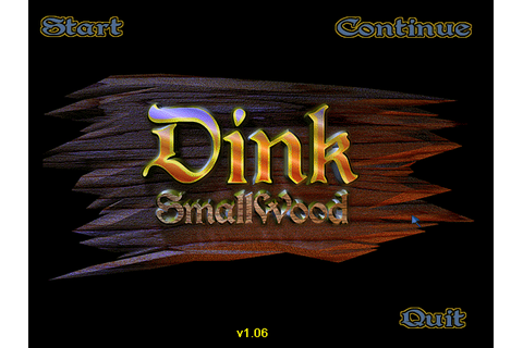 Download Dink SmallWood (Windows) - My Abandonware