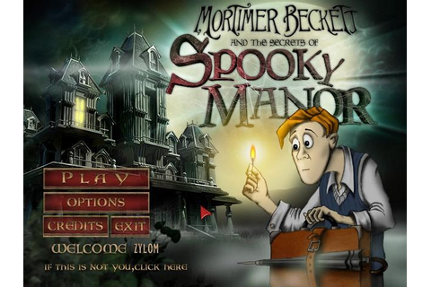 Mortimer Beckett and the Secrets of Spooky Manor | GameHouse
