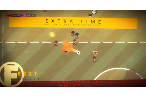 Behold the Kickmen is a football game made by someone who ...