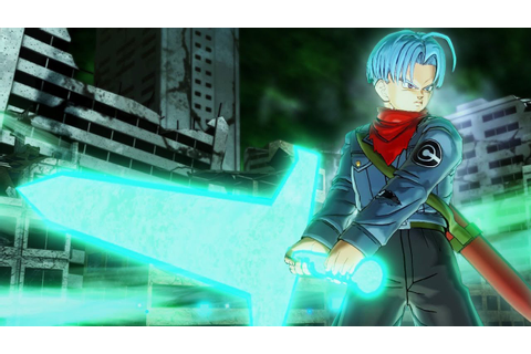 NEW TRANSFORMATION! Trunks Sword of Hope GAMEPLAY ...