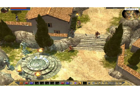 Titan Quest (PC) Gameplay (1080 HD) - YouTube