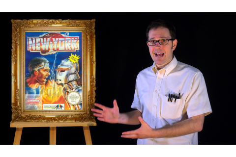 AVGN Bad Game Cover Art #8 – Action in New York (NES ...