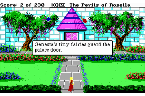 Download Kings Quest IV - The Perils of Rosella | Abandonia