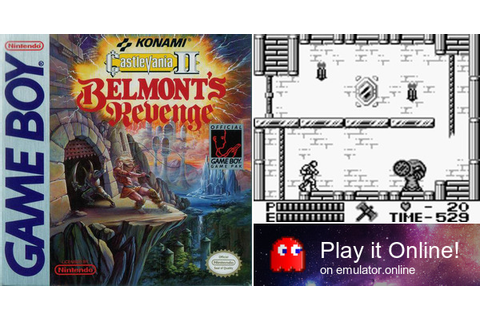 Play Castlevania 2: Belmont's Revenge on Game Boy