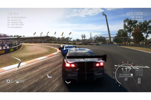Grid AutoSport Gameplay Bathurst V8 Supercars - YouTube