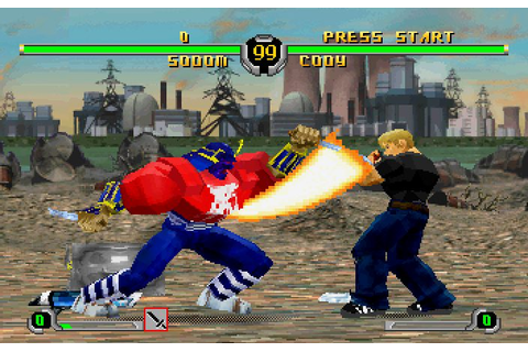 Final Fight Revenge (2000) by Capcom Saturn game