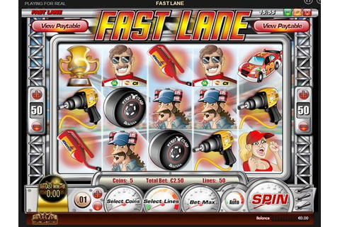 Fast Lane : Free Slot Machine Game