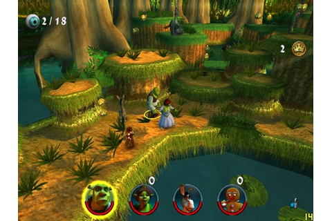 Shrek 2 Team Action Game - Hellopcgames