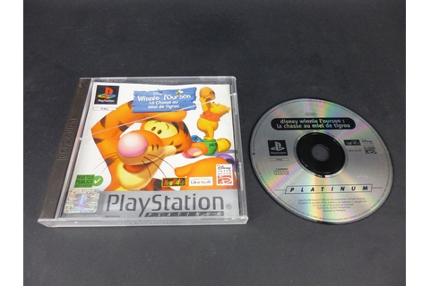 Jeu PS [Playstation 1] Winnie l'ourson la chasse au miel ...