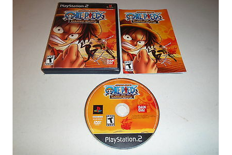 SHONEN JUMPS One Piece Grand Battle Playstation 2 PS2 Game ...