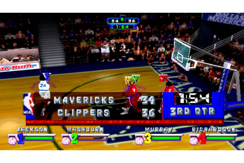 NBA Jam Extreme Gameplay (PSX,PsOne,Playstation) - YouTube