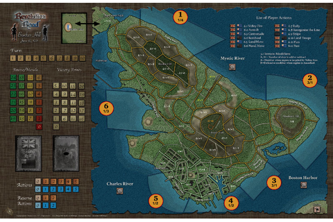 Revolution Road | Gazette du wargamer