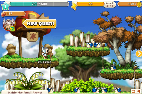 Nexon launches first Facebook game: MapleStory Adventures ...
