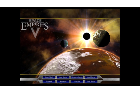Space Empires 5 02-001 -New Game Setup - YouTube