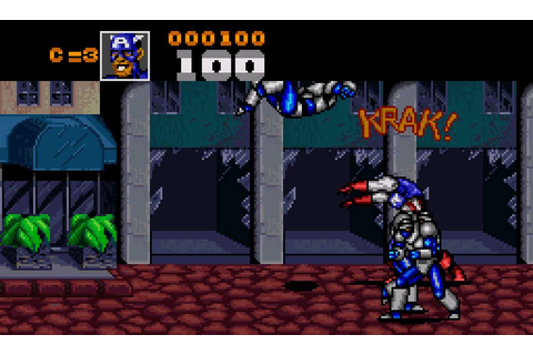 Captain America and the Avengers - SNES trucchi