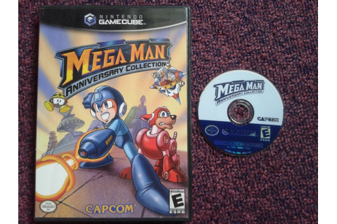 Nintendo Gamecube game: Mega Man Anniversary Collection ...