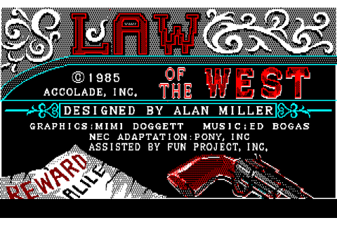 Download Law of the West - My Abandonware