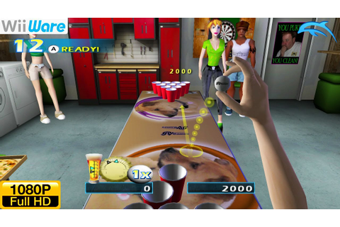 Pong Toss: Frat Party Games / Beer Pong - WiiWare Wii ...